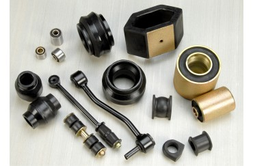 40x30mm Black Custom Rubber Bushing,Anti-Vibration Rubber Isolator, Rubber Female M8 Thread Mounts,Rubber Pads