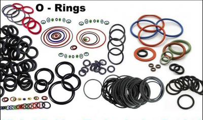 BS1516 AS568B DIN 715 NBR EPDM FFKM Viton Rubber Silicone Seal O-Rings