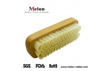 13CM length Suede Leather Cleaning Brush to France