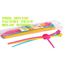 Factory Price All-Purpose Silicone smart tie, Bag Clip, Bread Tie, Original Gear Ties, Food Saver, Twist Tie, Cable Ties,Reusable