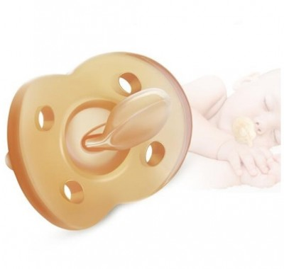 Silicone Baby Pacifier Simulation Breast Soft Nipple
