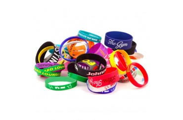 Wholesale High Quality Fashion Cheap Silicone Rubber Band Bracelets