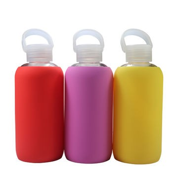 Custom Soft Drop Resistance Silicone Sleeve & Silicone Boot for water bottlefor Water Bottle