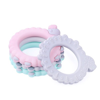 Silicone Teething Rings Wholesale,BPA Free Silicone Teething Ring
