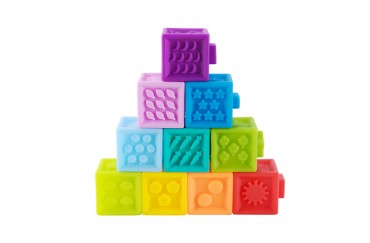 Food Grade Silicone Playing Blocks for Babies