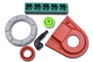 Different kinds of liquid silicone rubber parts