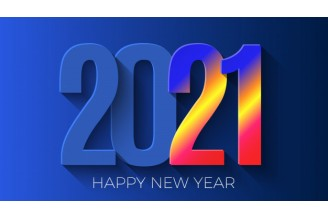 NEW 2021 greetings Melon Rubber