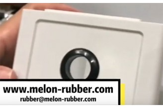 Rubber wire cable grommet, different size, high quality--Melon