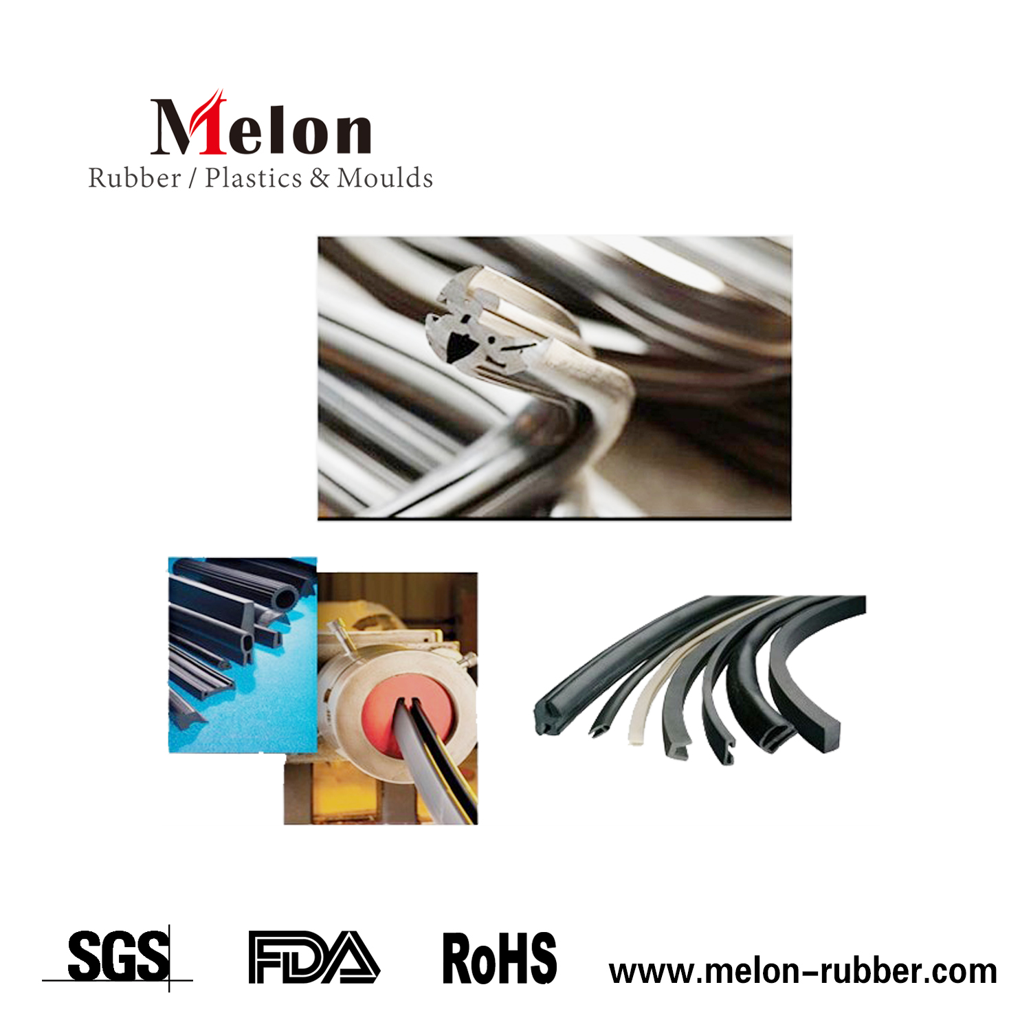 rubber sealing extrusion profile