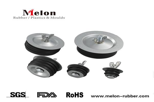 Econo Rubber Metal Test Pipe Plug