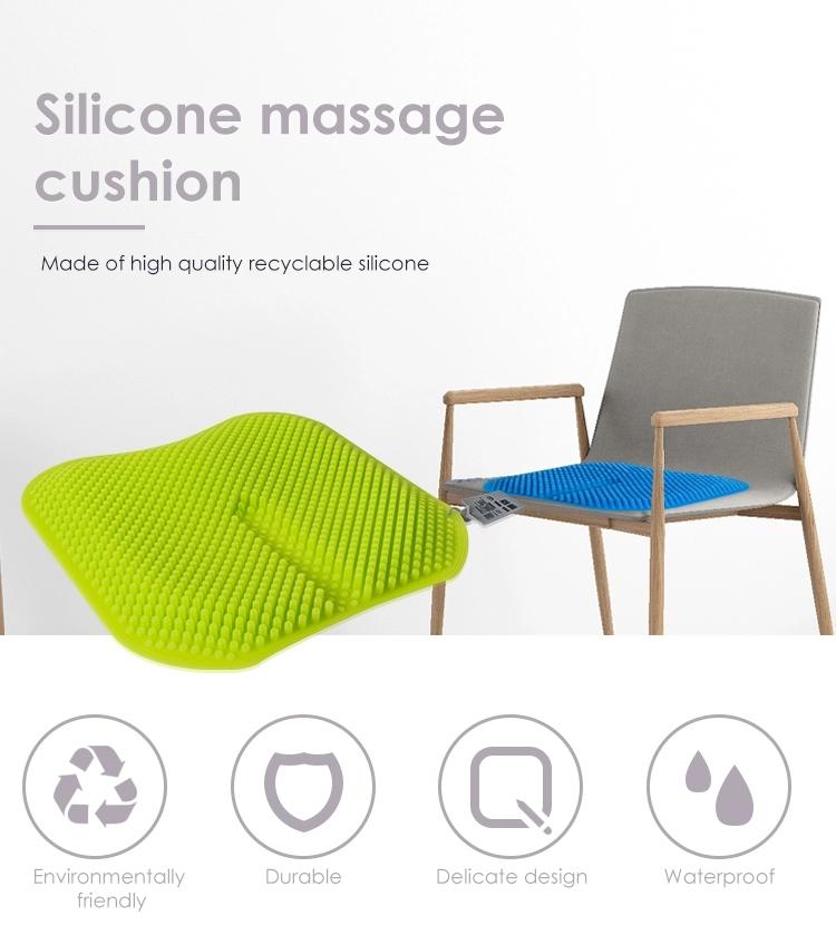 Silicone molding Massage Seat Cushion