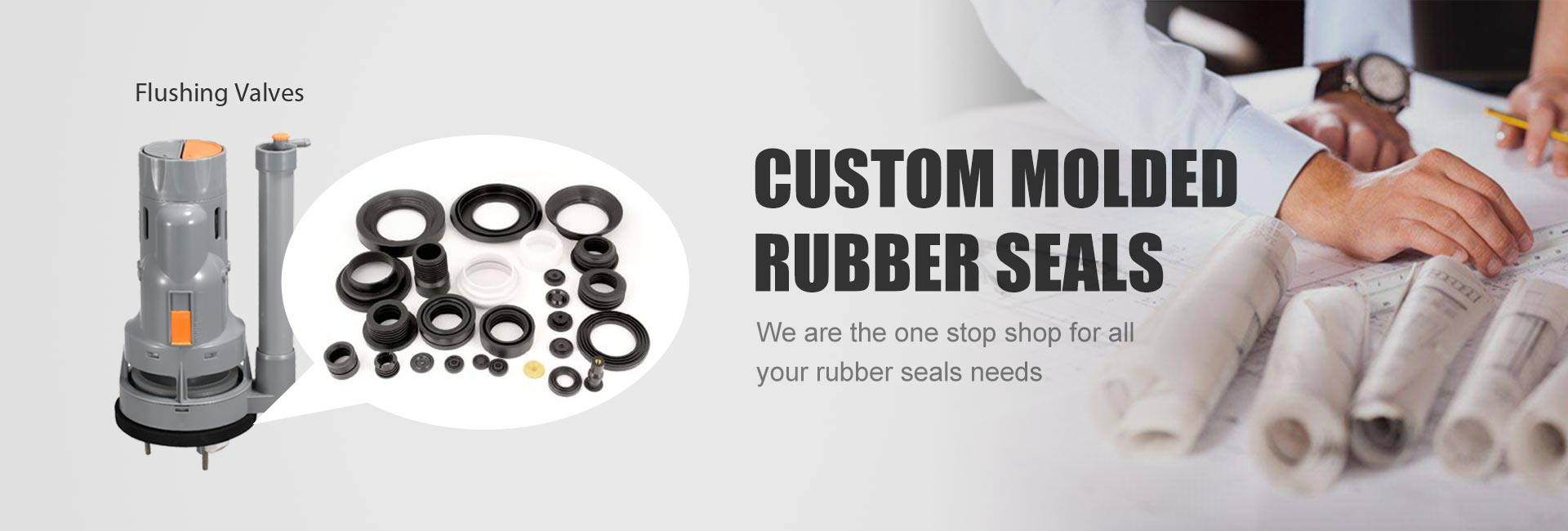 Custom Moulded Rubber Seals