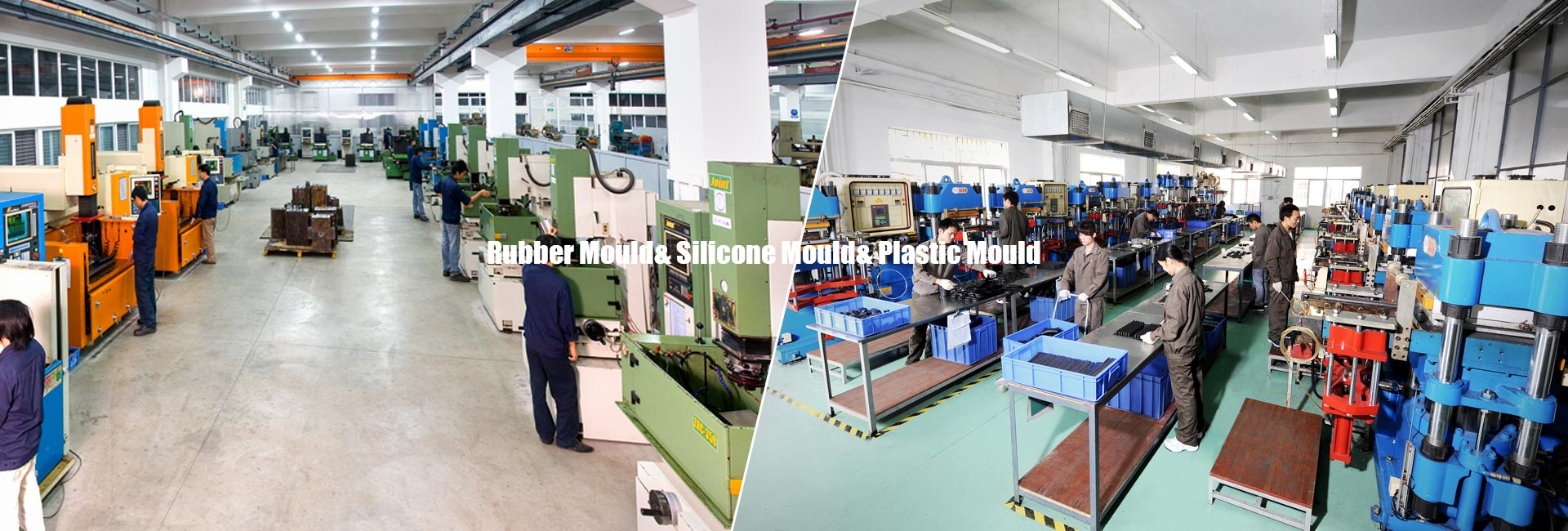 Rubber & Plastic Mould workshop